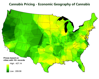 Economic Geographies of Marijuana